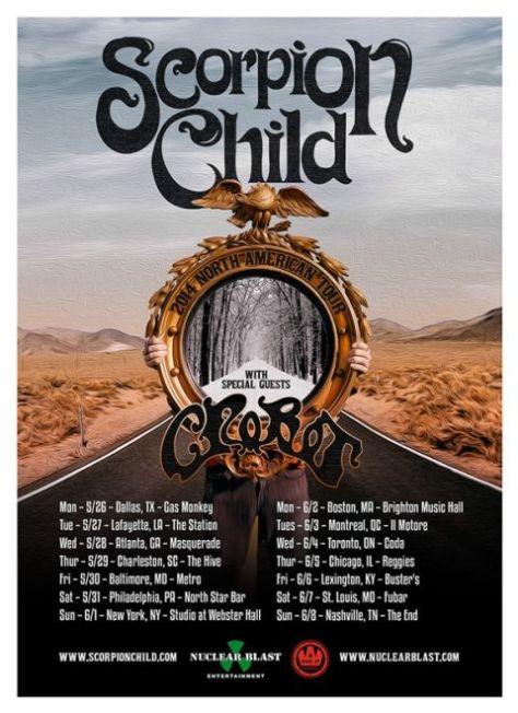 scorpion child tour posters, tour posters