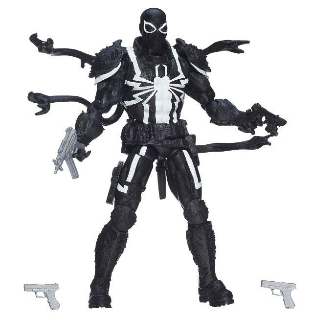 hasbro toys, spider-man marvel legends infinite series, agent venom