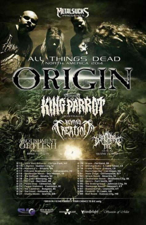 origin tour posters, tour posters