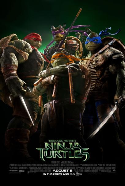 Poster - Teenage Mutant Ninja Turtles - 2014