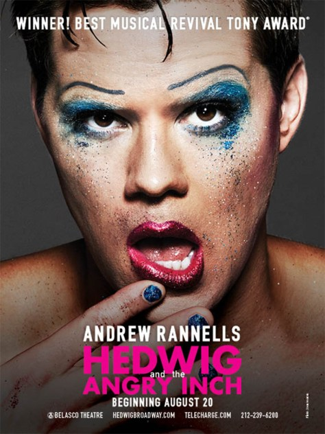 Poster - Hedwig and The Angry Inch - 2014 - 2