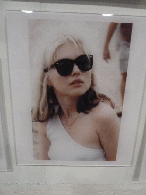 blondie, debbie harry, chris stein, blondie photographs, blondie 40th anniversary exhibit