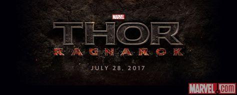 Logo - Thor Ragnarok - 2017