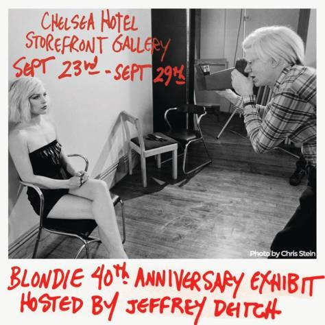 Photo - Blondie Exhibit - 2014