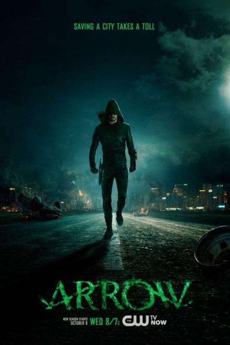 Poster - Arrow - S3 - 2014