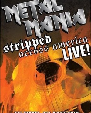 """Metal Mania: Stripped Across America"" by Various Artists"