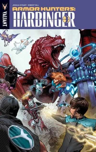 Book - Armor Hunters Harbinger - 2014
