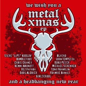 """We Wish You A Metal Xmas and a Headbanging New Year"" (EP) by Various Artists"