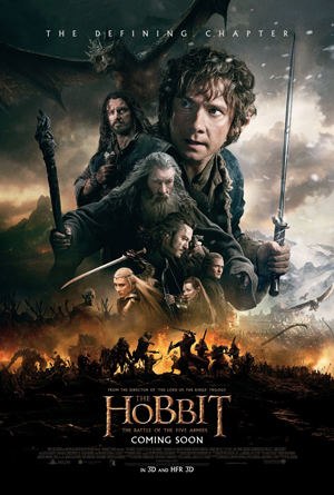 Poster - The Hobbit - The Battle of the Five Armies - 2014