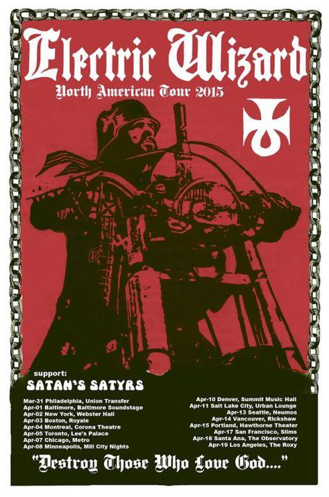 Tour - Electric Wizard - Spring 2015
