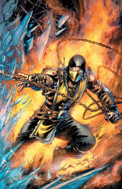 Comic - Mortal Kombat 1B - 2015