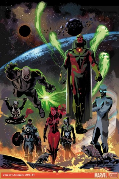 Comic - Uncanny Avengers 1 - 2015
