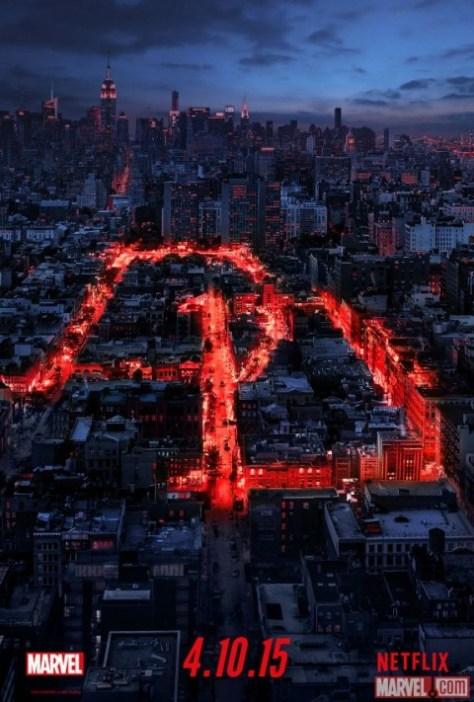 Poster - Daredevil - Netflix Marvel - 2015