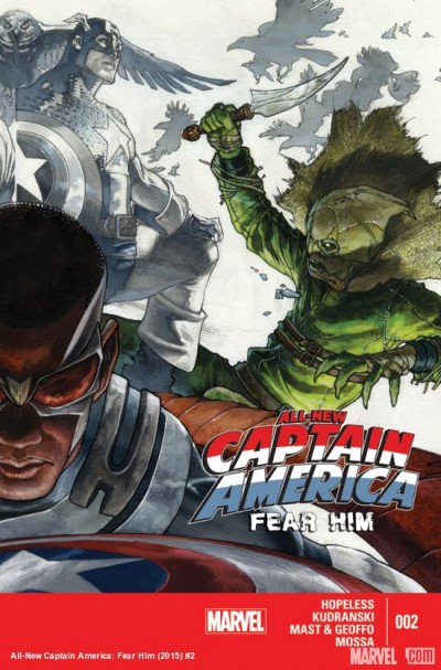 Comic - All-New Captain America Fear Him 2 - 2015