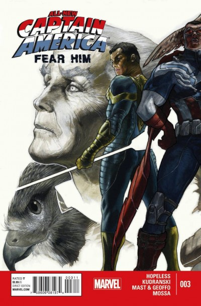 Comic - All-New Captain America Fear Him 3 - 2015