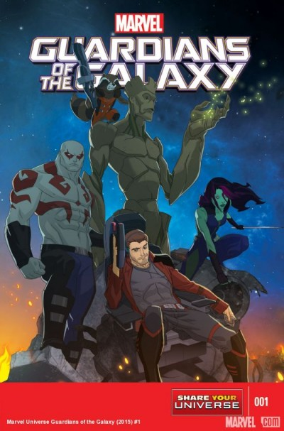 Comic - Marvel Guardians Of The Galaxy 1 - 2015