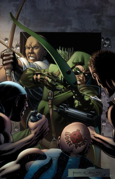 Convergence: Green Arrow #1