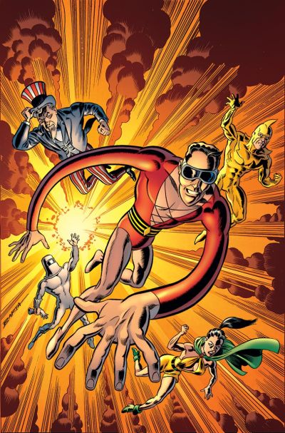"""""""Convergence: Plastic Man and The Freedom Fighters"""" #1"""