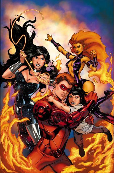 Convergence: Titans #1