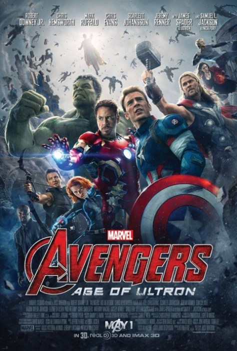 Poster - Avengers Age Of Ultron - 2015