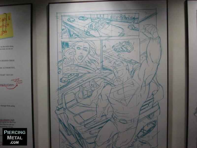 dc comics hq nyc, dc comics office images, dc comics hq