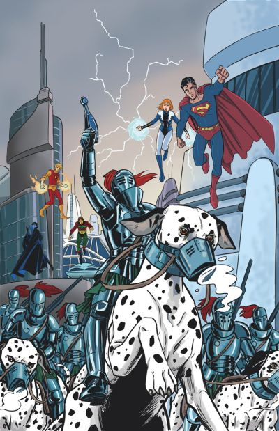 """Convergence: Superboy & The Legion Of Super-Heroes"" #2"