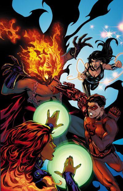 """Convergence: Titans"" #2"
