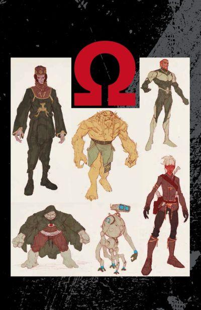 Comic - Omega Men 1 - 2015