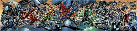 Justice League Of America #1 Gatefold Image