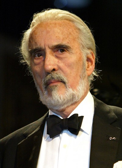 Photo - Sir Christopher Lee