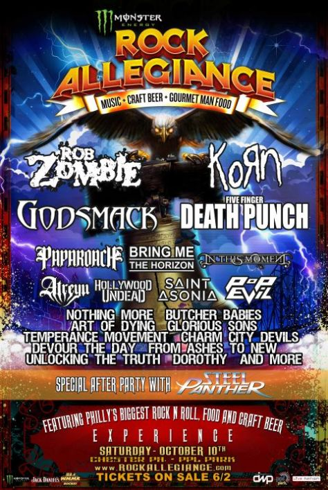 Poster - Monster Rock Allegiance Fest - 2015
