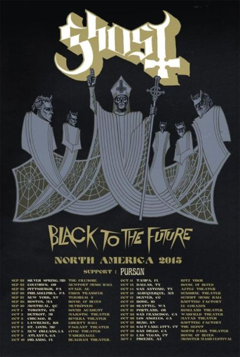 Tour - Ghost - Fall 2015
