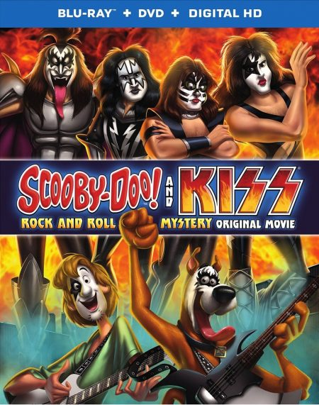 Bluray - Scooby Doo and KISS - 2015