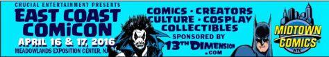 Banner - East Coast Comiccon - 2016