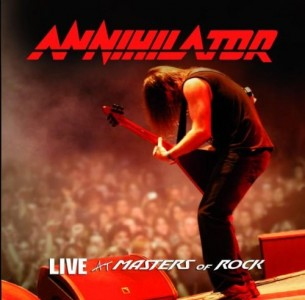 """Live At Masters Of Rock"" by Annihilator"
