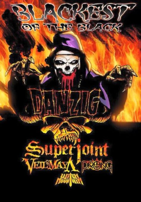Tour - Danzig - Blackest Of The Black - 2015