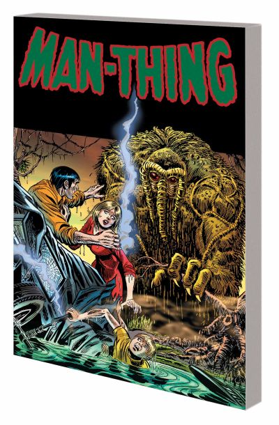 Book - Man Thing - 2015