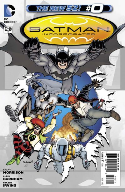 Comic - Batman Incorporated 0 - 2012