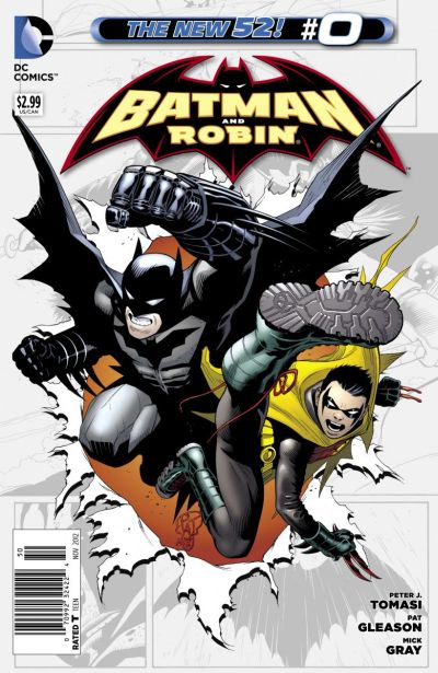 Comic - Batman and Robin 0 - 2012