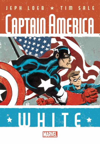 Comic - Captain America White 2 - 2015