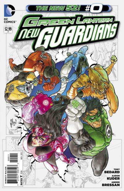 Comic - Green Lantern New Guardians 0 - 2012