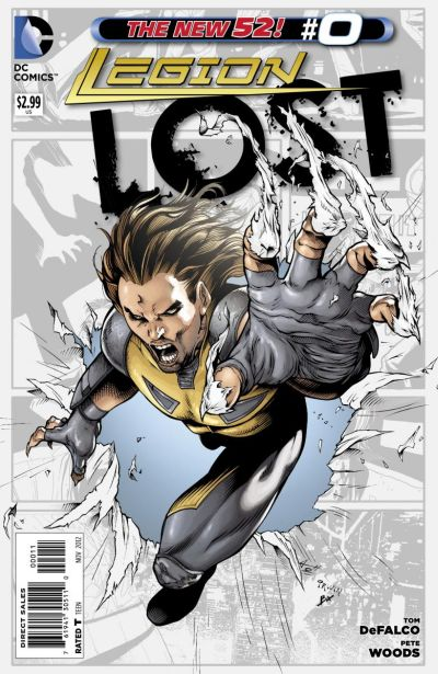 Comic - Legion Lost 0 - 2012
