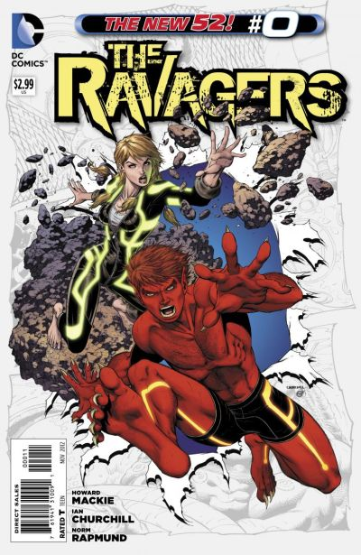 Comic - Ravagers 0 - 2012