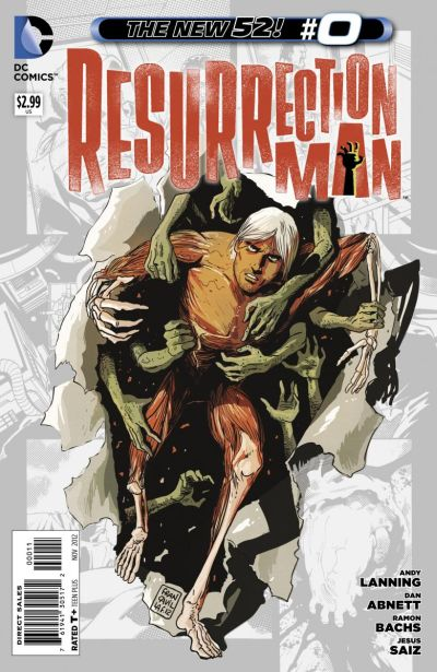 Comic - Resurrection Man 0 - 2012