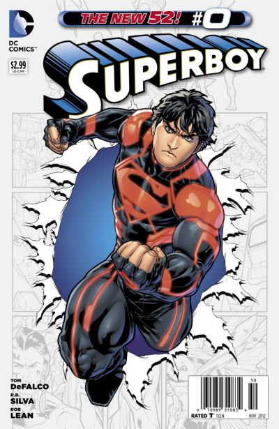 Comic - Superboy 0 - 2012
