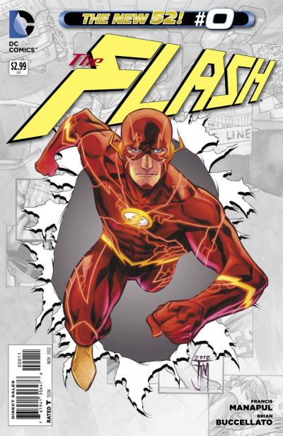 Comic - The Flash 0 - 2012