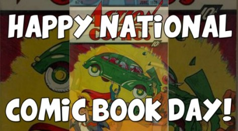 Logo - National Comic Book Day