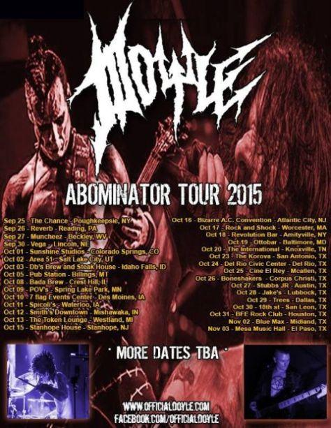 Tour - Doyle - 2015