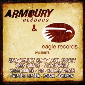 """Armoury Records/Eagle Records 2009 Sampler"" by Various Artists"