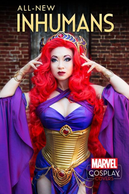 All-New Inhumans #1 Cosplay Variant by Yaya Han